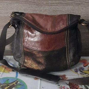 The Sak hobo metallic crossbody bag